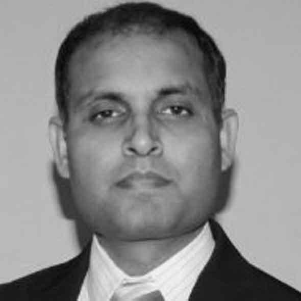 headshot of Ashok Kumar