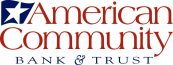 Logo of American Community Bank