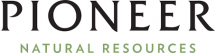 Logo of Pioneer Natural Resources