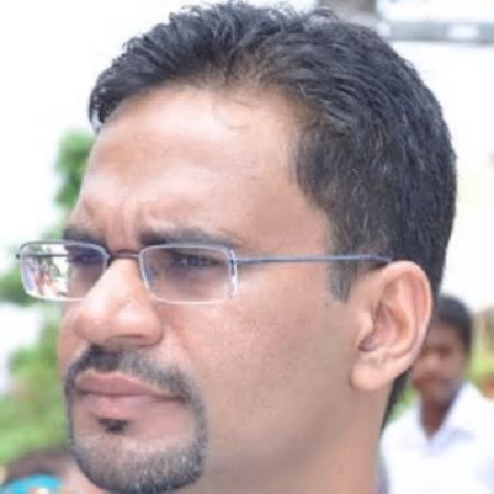 headshot of Mukesh Sharma