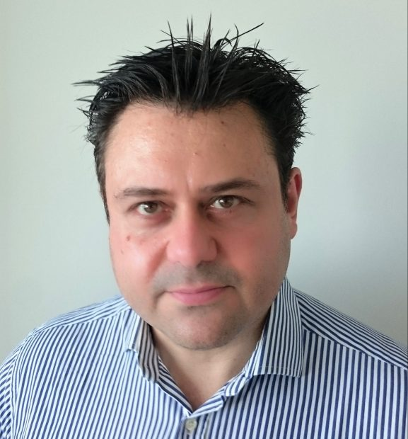 headshot of Harris Marcou
