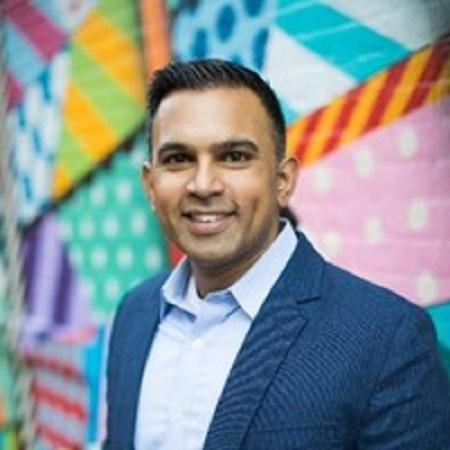 headshot of Ankit Patel