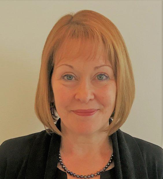 headshot of Sue McMahon