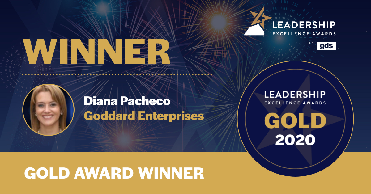 Diana Pacheco HR Leader of the Year North America 2020 - GDS Leadership Awards