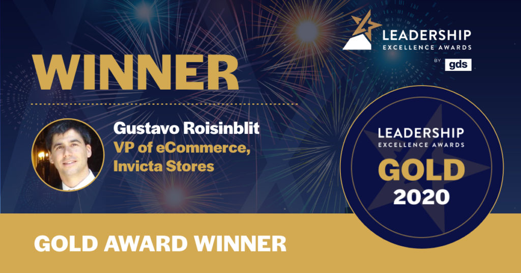 Gustavo Roisinblit - Omnichannel Gold Winner of the Year 2020