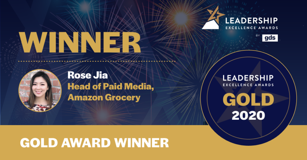 Rose Jia - GDS Group Leadership Awards