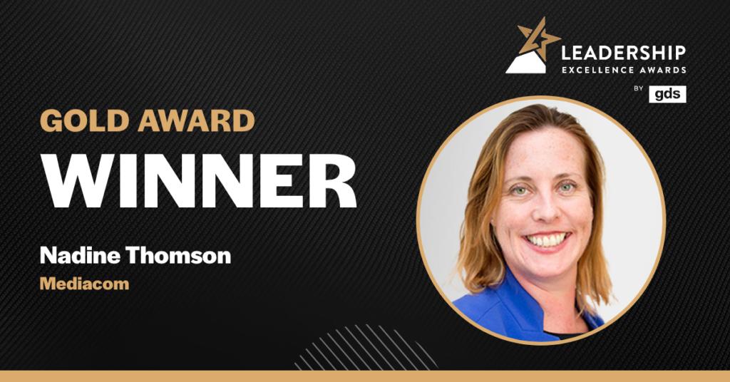 Nadine Thomson - Gold Award Winner at GDS European Technology Leader of the Year Award 2021