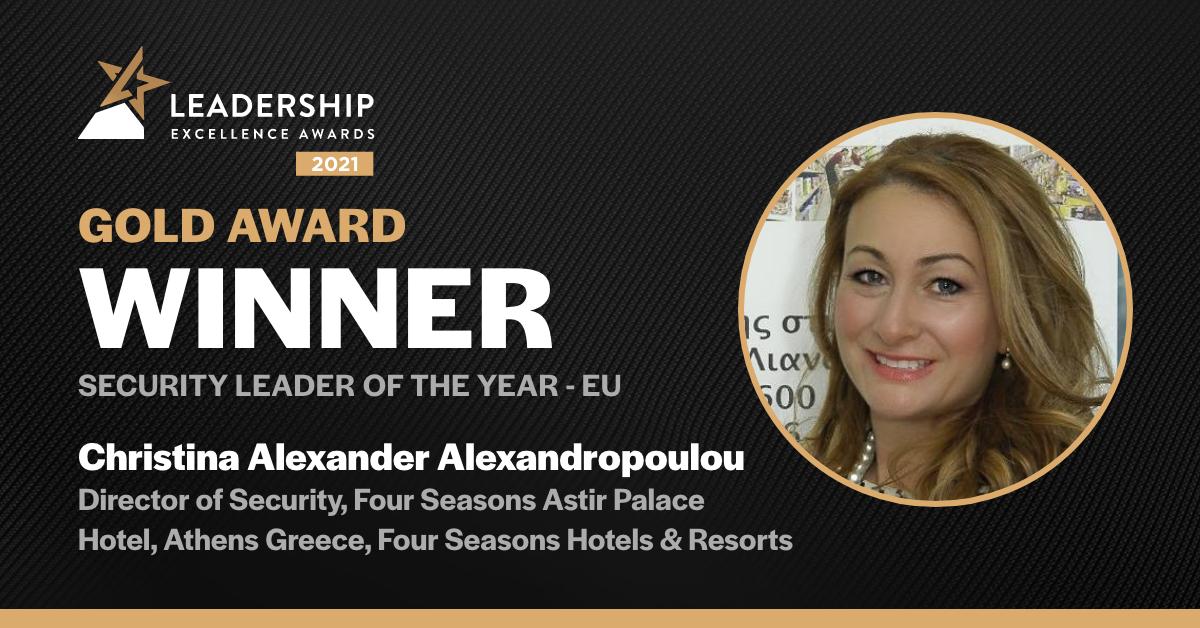 Christina Alexander Alexandropoulou - Gold Winner