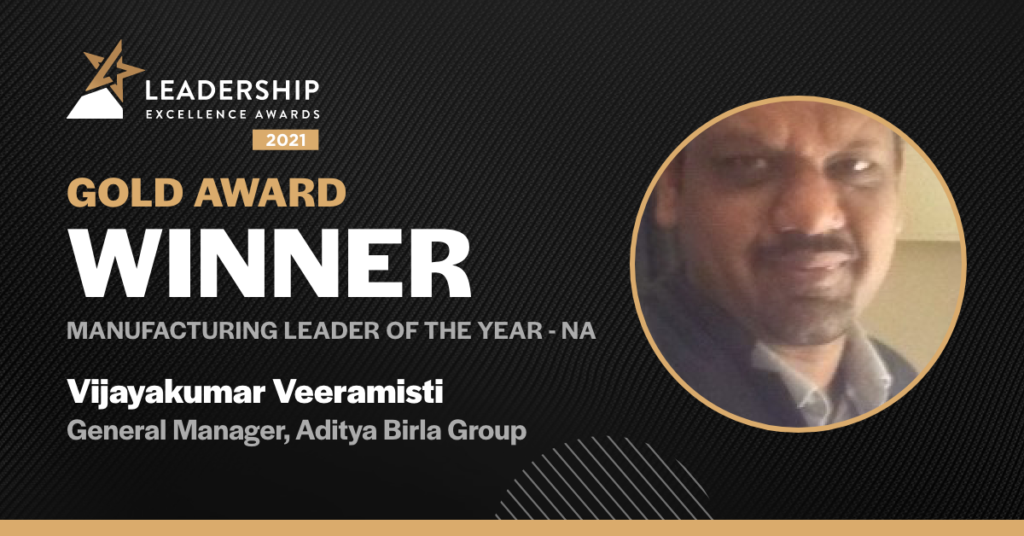 Manufacturing Leader of the year - North America