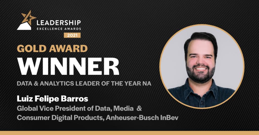 "Luiz Felipe Barros wins ""Data & Analytics Leader of the Year"" - GDS Awards"