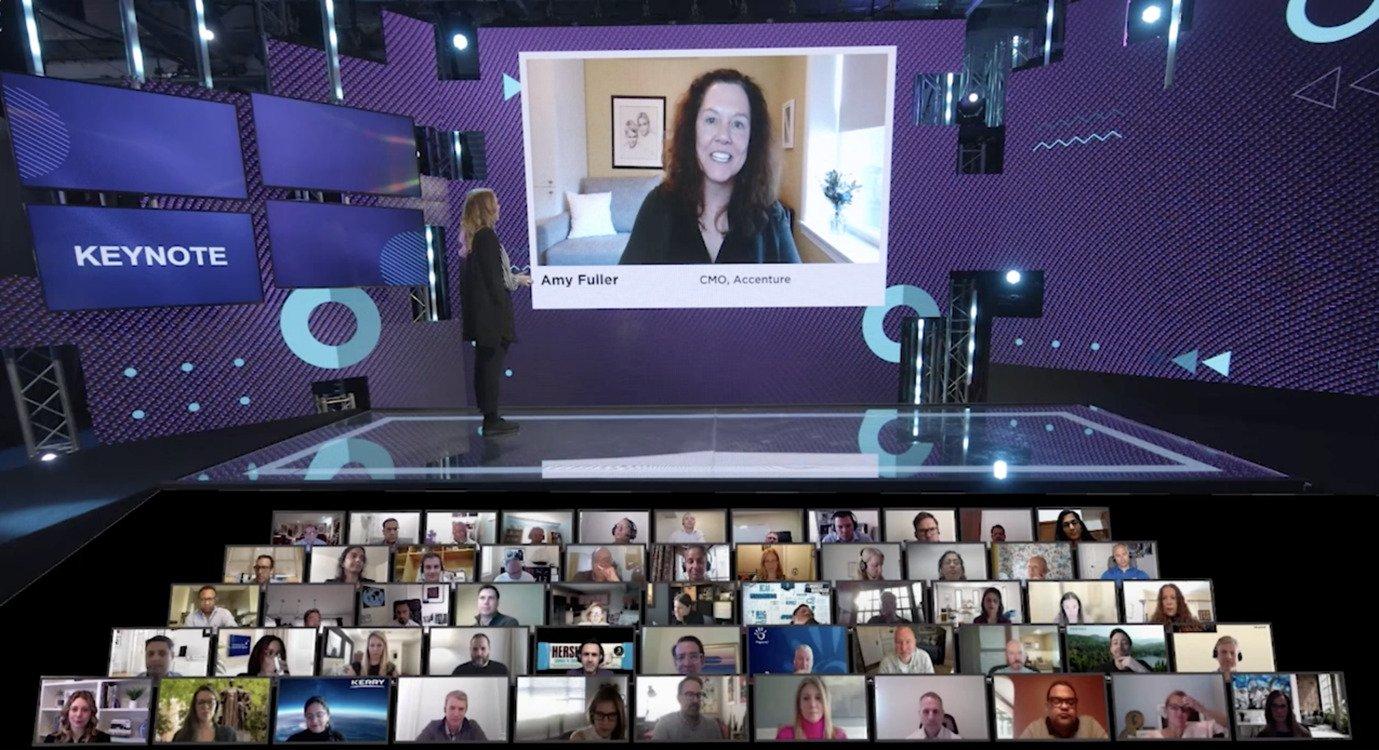 Amy Fuller talking in the latest GDS Summit - Marketing strategies 2021