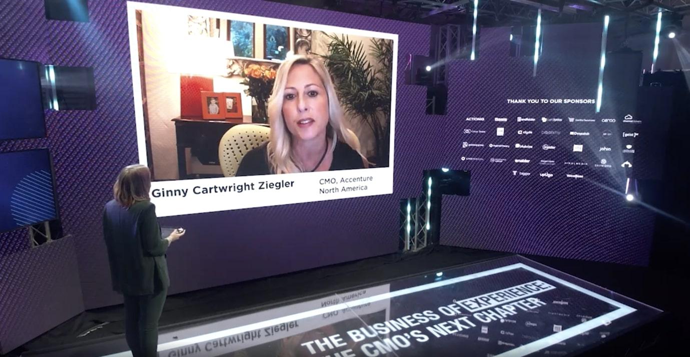 Ginny Cartwright Ziegler in the latest GDS Summit - Marketing strategies 2021