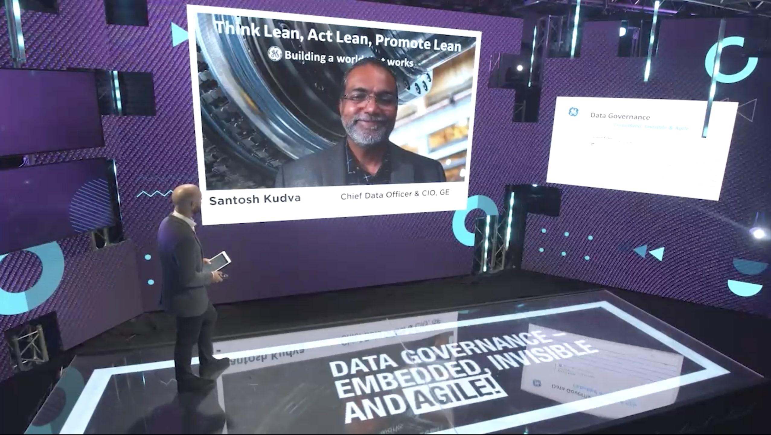 Santosh Kudva, GE Power - Data Governance & the role of the CIO