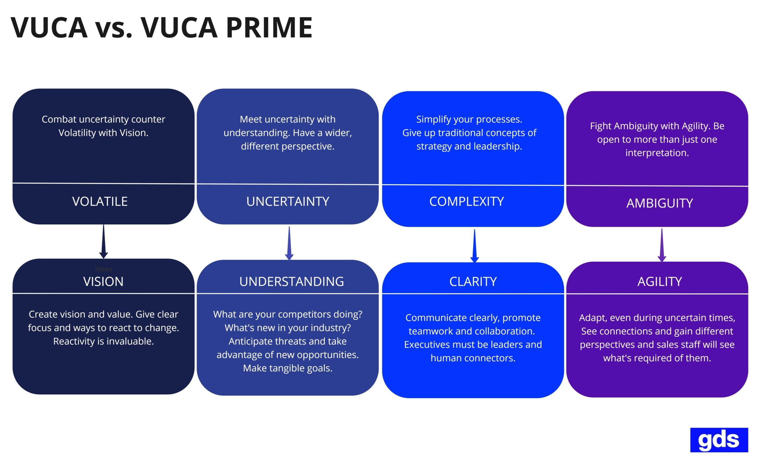 VUCA PRIME Sales Strategy Plan